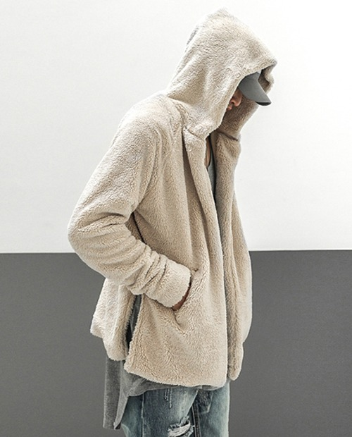 FOG WOOL HOOD JACKET