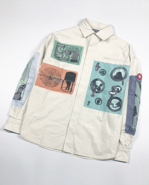 C.E PATCH SHIRT JACEKT