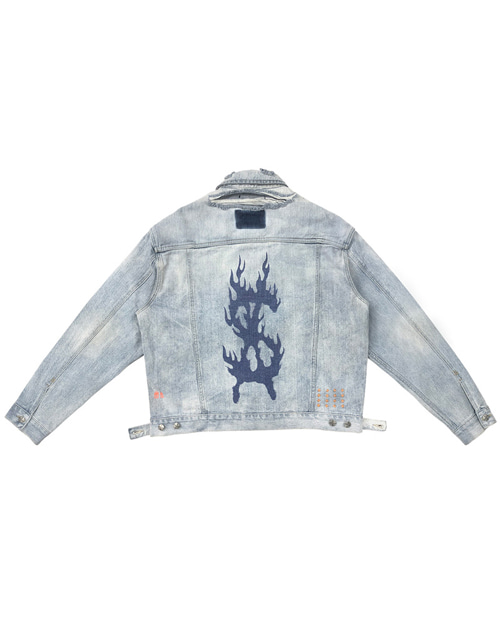 TRAVIS x SUBI DENIM JACKET
