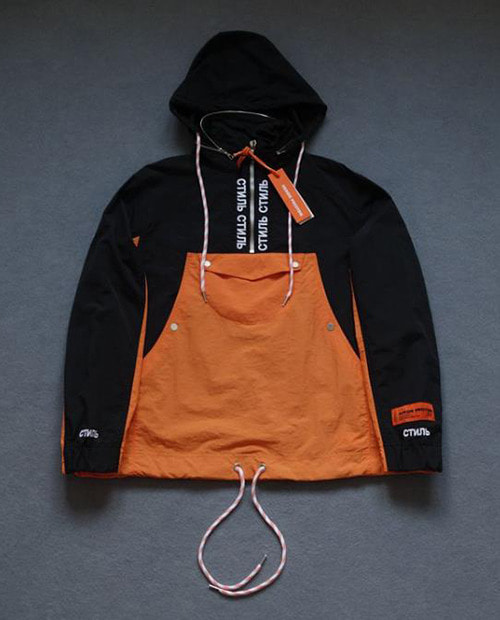 HERON SIMPLE BASIC ANORAK 2 COLOR