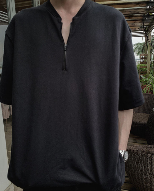 FOG ZIPPER FRONT 1/2 TOP