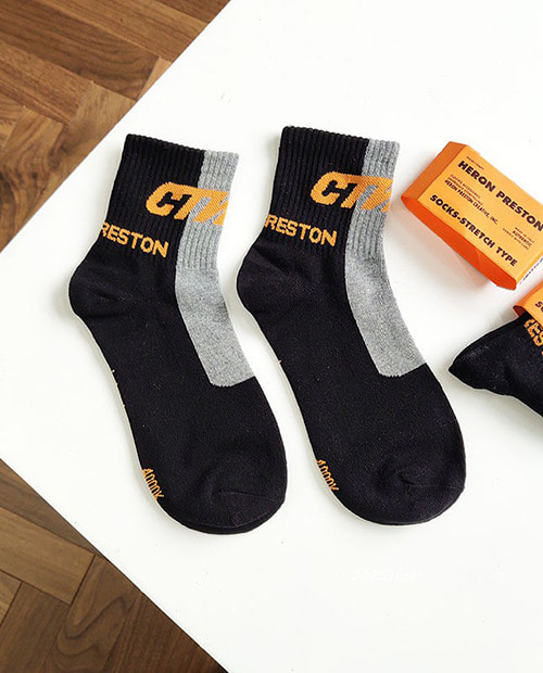 HERON GRAY SOCKS