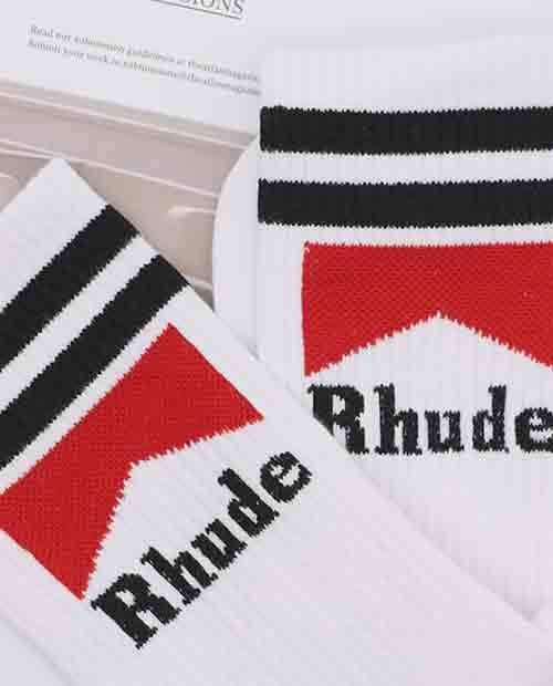 RHUDE MARLBORO SOCKS 2 COLOR
