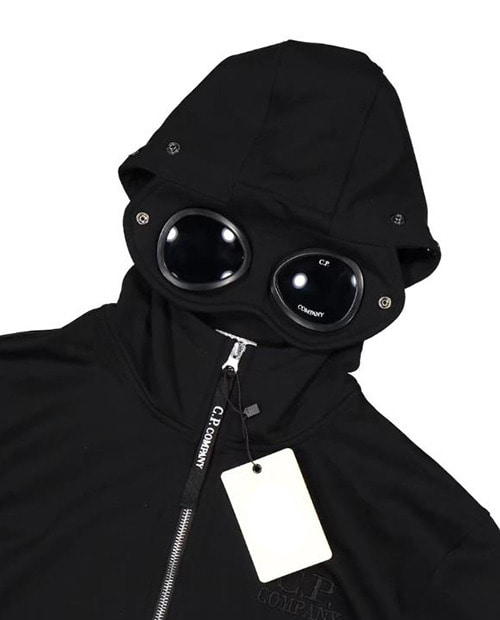 CP GOGLE HOOD ZIP UP