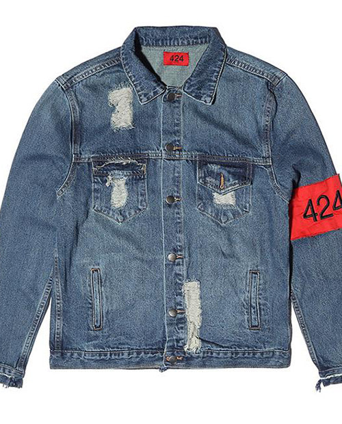 424 DISS DENIM JACKET *2차리오더*