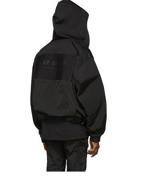 FOG BACKLOGO UVEN HOODJACKET