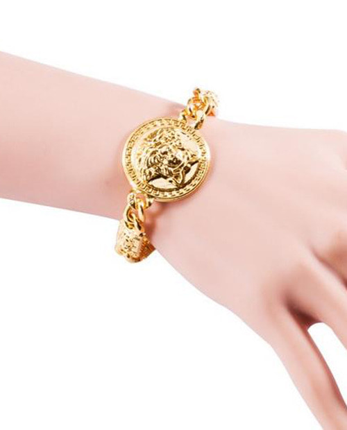 V.S MEDUSA GOLD BANGLE