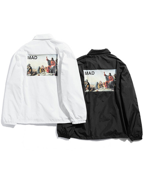 U.C JESUS TEACH COACH JACKET