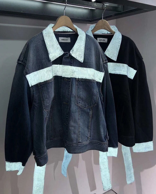 ABS STRAP DENIM JACKET