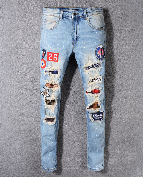 AMR ARIZONA PATCH JEANS