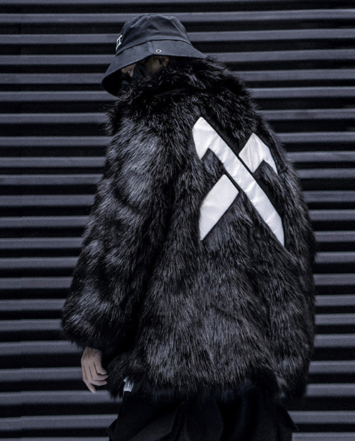 11BYBBS X FUR JACKET
