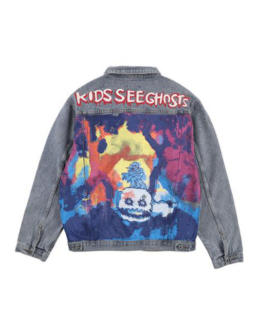 KANYE GHOAST BILLAN DENIM JACKET