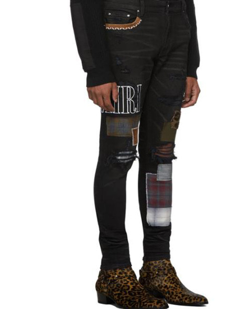AMR KNIFE CUT JEANS