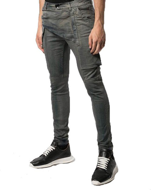 R.O DARKSHADOW STRAP JEANS