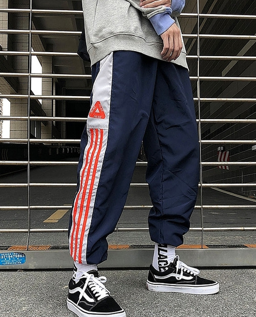 PLC ORANGE STRAP UVEN PANTS