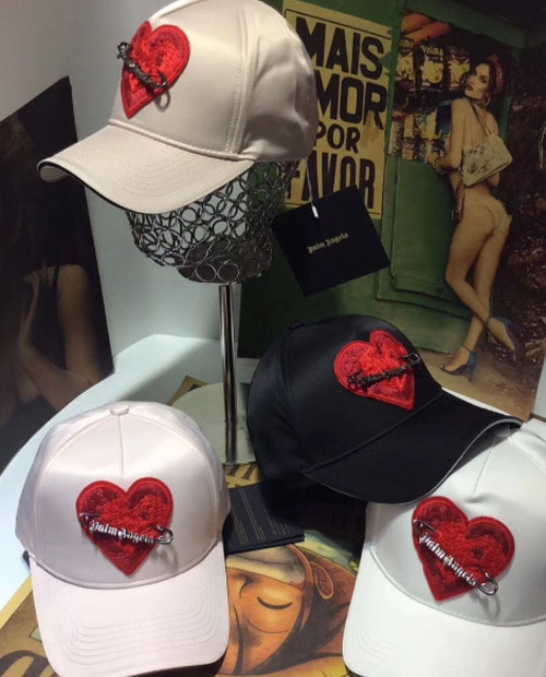 PALM HEART CLIP BALLCAP