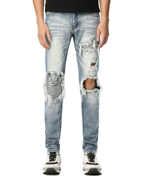 AMR SUPER CLIP DISS JEANS