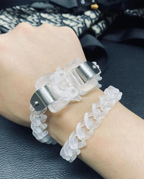 ALX9SM TRANSPARENT BANGLE