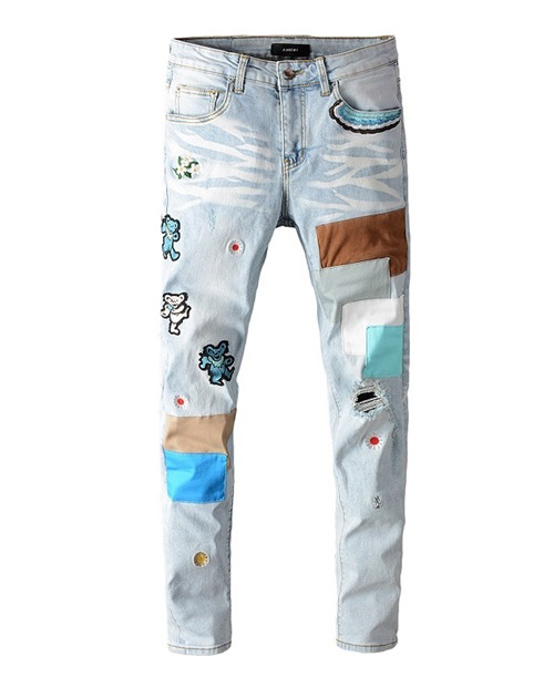 AMR BEAR PATCH JEANS