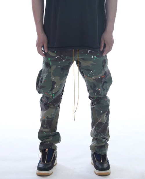 GALLERY DEPT CAMO PAINTING PANTS