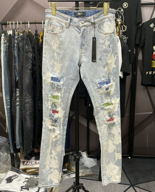 AMR TIEDY STONE JEANS