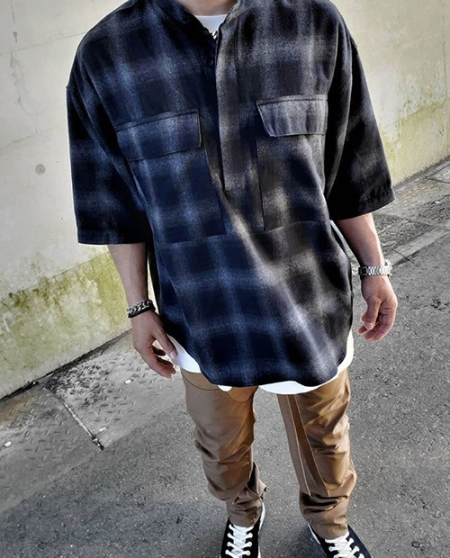 FOG CHECK FLAIN FLANNEL SHIRTS
