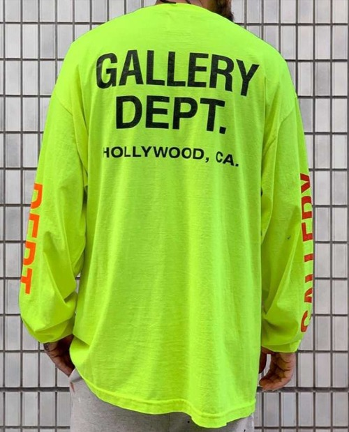 GALLERY DEPT LETTER PRINT LONG SLEEVE