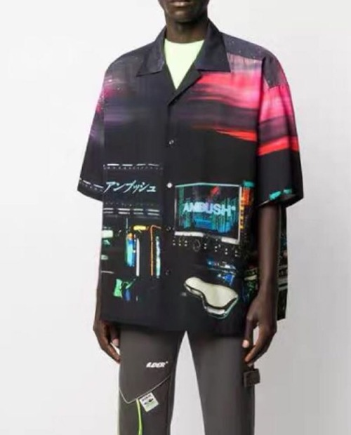 ABS CYBER PUNK SHIRTS 2/1