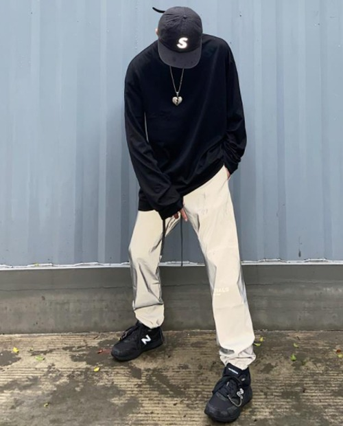 FOG ESSENTIAL WARMGRAY PANTS