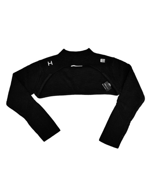 H.E TECH CROP KNIT