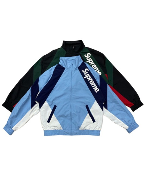 SUP CROSS LETTER WINDBREAKER