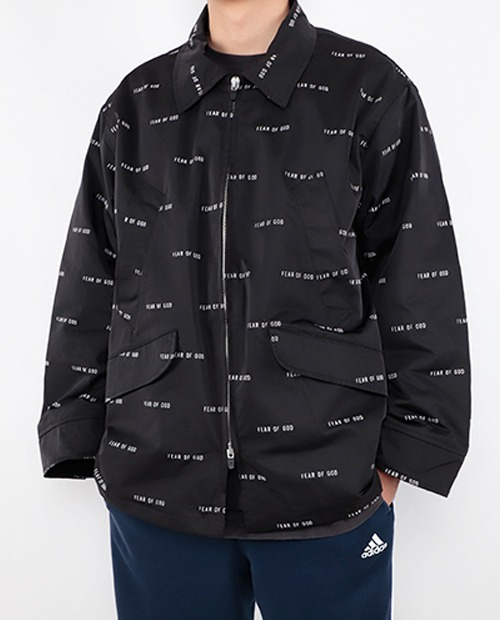 FOG FULL PRINT QUALTING JACKET