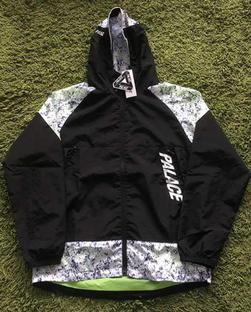 PALACE SPACE PATTERN WIND BREAKER