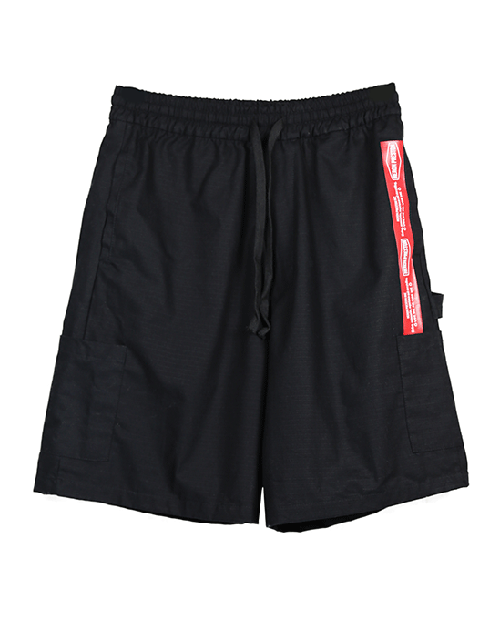 HP RED POKET SHORT PANTS