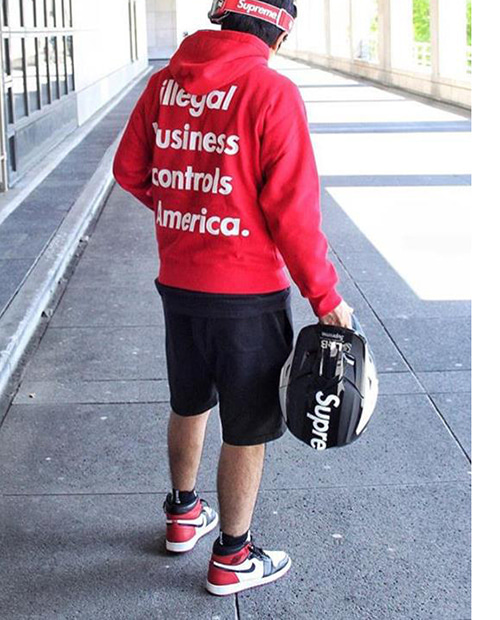 ANTI BUISNESS CONTROL AMERICA HOODIE 2COLOR