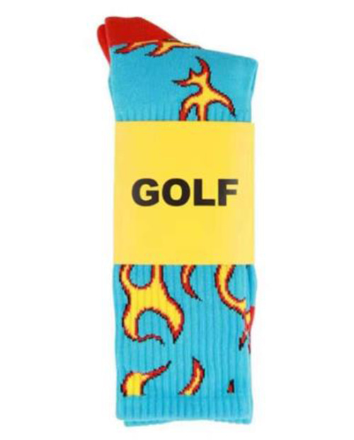 GOLF WANG FIRE SOCKS