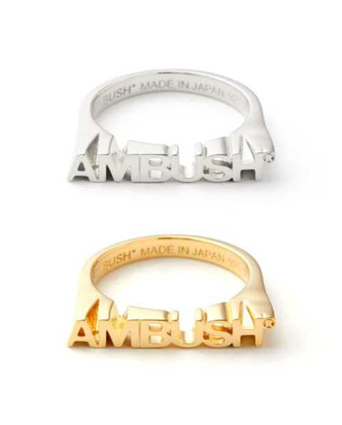 AMBUS LOGO RING 2 COLOR