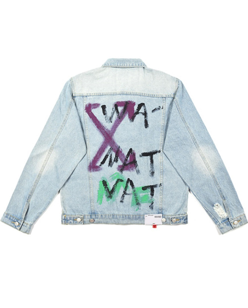 X ARROW DENIM JACKET