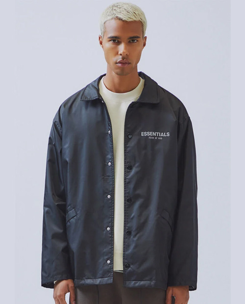 ESSENTIAL 3M SCOTCH COACH JACKET