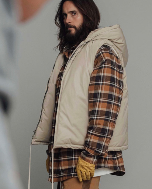 FOG CHECK PADDING FLANNEL SHIRTS